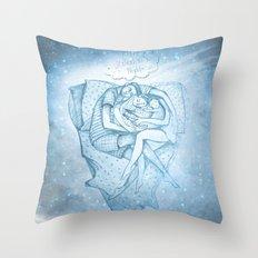 Happy Valentine's Night Throw Pillow