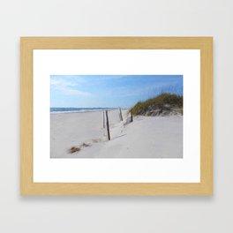 Van Gogh's Beach Framed Art Print