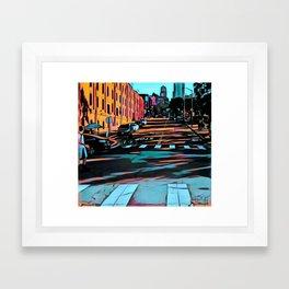 Hyde Street, San Francisco Framed Art Print