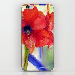 Maui Amaryllis iPhone Skin