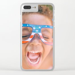 Happy Kids Clear iPhone Case