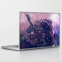 robot Laptop & iPad Skins featuring Robot by Vajra Pancharia