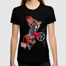 Red Flamingo Trends by Lenka Laskoradova T-shirt