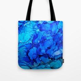 Blue Petunias Tote Bag