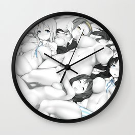 Yuri Party 2 Wall Clock