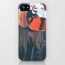 orange (from a photo by Sebastien Zanella) iPhone Case