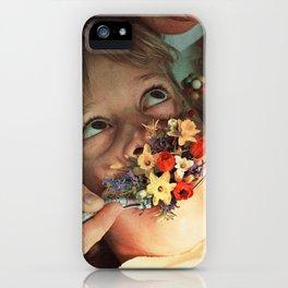 Oral Floral iPhone Case
