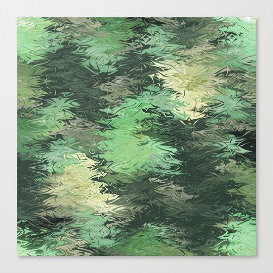 Green Illusions Canvas Print
