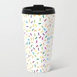 Donuts Texture Travel Mug