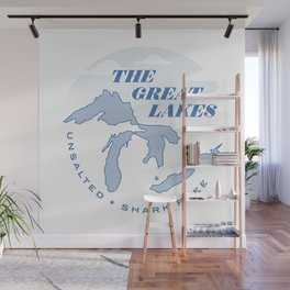 The Great Lakes - Unsalted & Shark Free Wall Mural