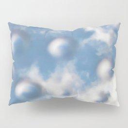 Sky Bubbles #abstract #art #society6 #decor Pillow Sham