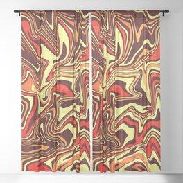 Volcanic Liquid Agate Sheer Curtain