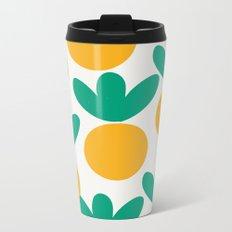 Minimalist Fruit Summer Pattern Metal Travel Mug