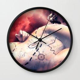 Coeur de prirate Wall Clock