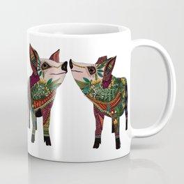 pig love white Coffee Mug
