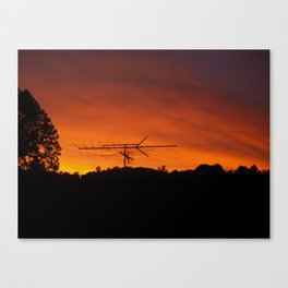 Transmitting Mixed Signals Canvas Print