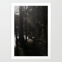 dusk at dawn Art Print