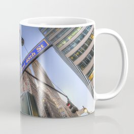 New York Street Sign Coffee Mug