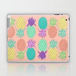 pineapple small coral Laptop & iPad Skin