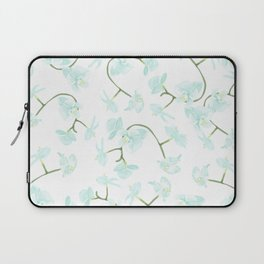 How delicate the orchid's eternal bloom Laptop Sleeve