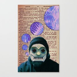 Ones & Zeros Canvas Print