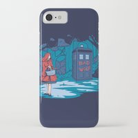hallion iPhone & iPod Cases featuring Big Bad Wolf by Karen Hallion Illustrations