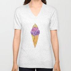 Natural Ice Cream  Unisex V-Neck