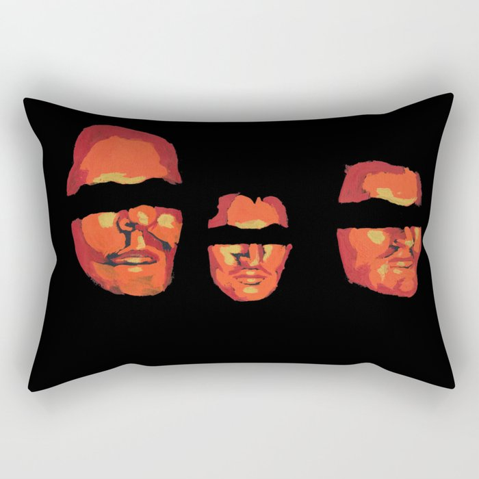Once upon a time there was three friends Rectangular Pillow