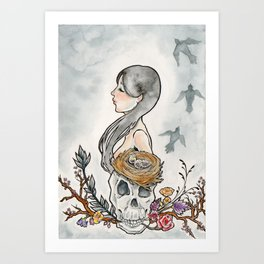 Sorrow Fall Art Print