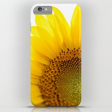 Sunflower Detail - Yellow iPhone 6 Plus Slim Case