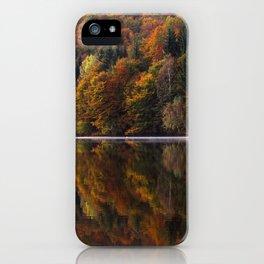 Autumn Lake iPhone Case