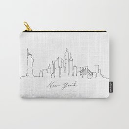 Pen line silhouette New York Carry-All Pouch