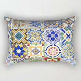 Azulejo — Portuguese ceramic #15 Rectangular Pillow