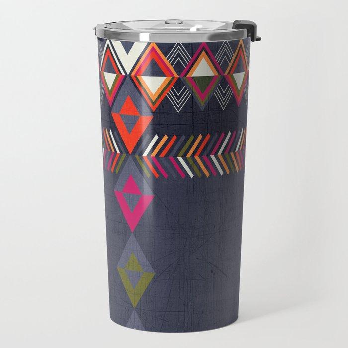 Tribal Pattern 25 Travel Mug