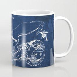 21 C600 Sport BLUE blueprint motorcycle Coffee Mug