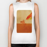 airbender Biker Tanks featuring Avatar Roku by daniel