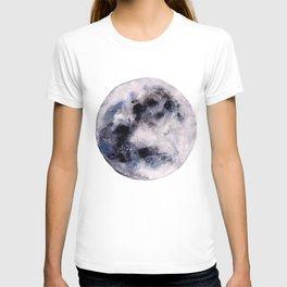 Watercolor moon T-shirt