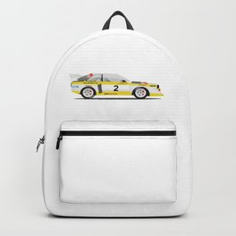 Rally Car Quattro Group B Backpack