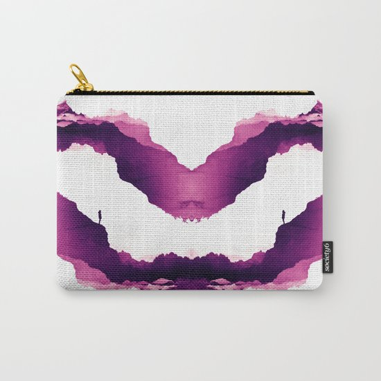 Purple Isolation Carry-All Pouch