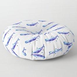 Sperm Whale Floor Pillow
