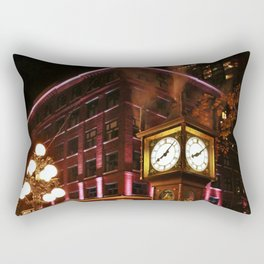 Gastown at Night Rectangular Pillow