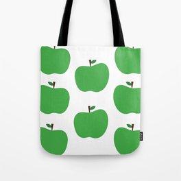 Green Apples Tote Bag