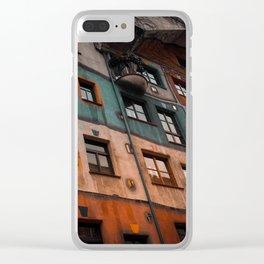 Hundertwasser museum Clear iPhone Case
