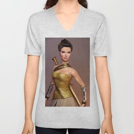Diana in Training Unisex V-Neck