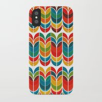 tulip iPhone & iPod Cases featuring Tulip by Picomodi