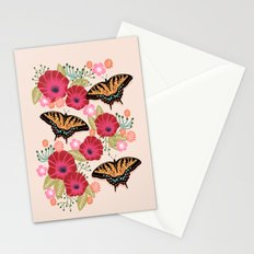 Swallowtail Florals by Andrea Lauren  Stationery Cards