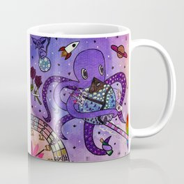 Octopus in Space- Oswald's takeover Coffee Mug
