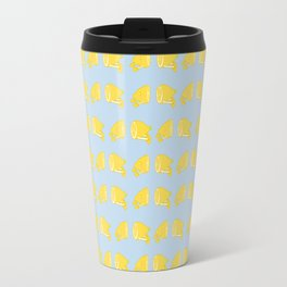 Catch the Half Lemon (Pattern Version) Travel Mug