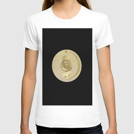 Black Gold Moon and Stars #1 #decor #art #society6 T-shirt