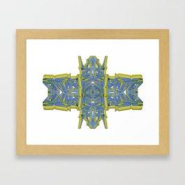 PILOT in Pastel Framed Art Print
